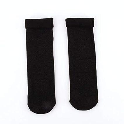 Lannmart Christmas Socks Glitter Winter Velvet Socks Thick Vintage Funny Calcetines Mujer Women Chaussette Femme Warm