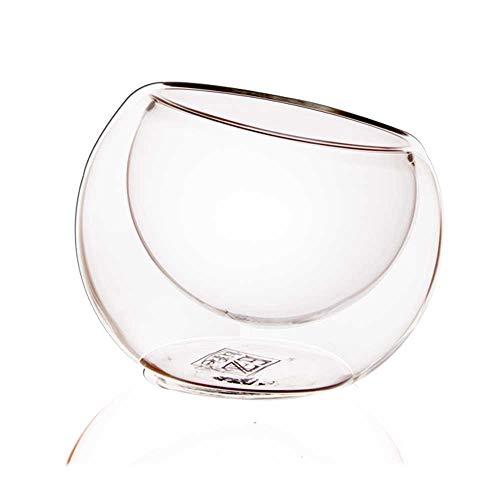 EZ Life Glass Classic Bowl   80ml, Set of 4, Transparent