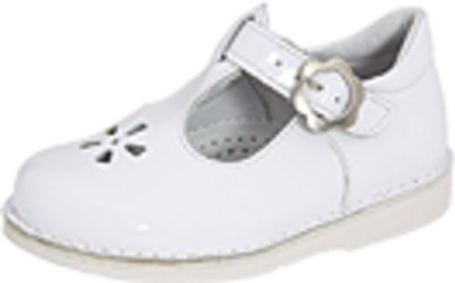 Kid Express Molly,White Patent,28 EU (11-11.5 M US Little Kid) Youth White Patent Footwear