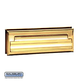 Standard Mail Slot I Color: Brass Standard Mail Slot