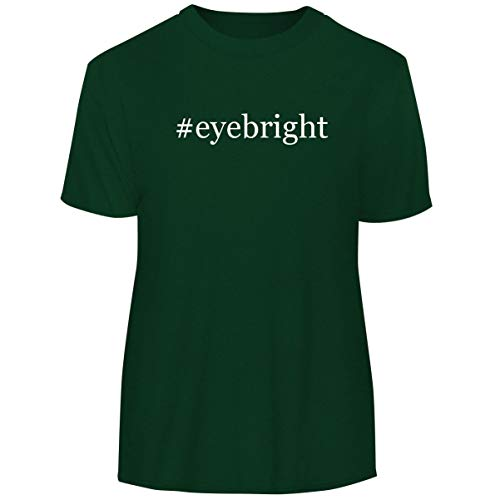 One Legging it Around #Eyebright - Hashtag Men's Funny Soft Adult Tee T-Shirt, Forest, XXX-Large ()