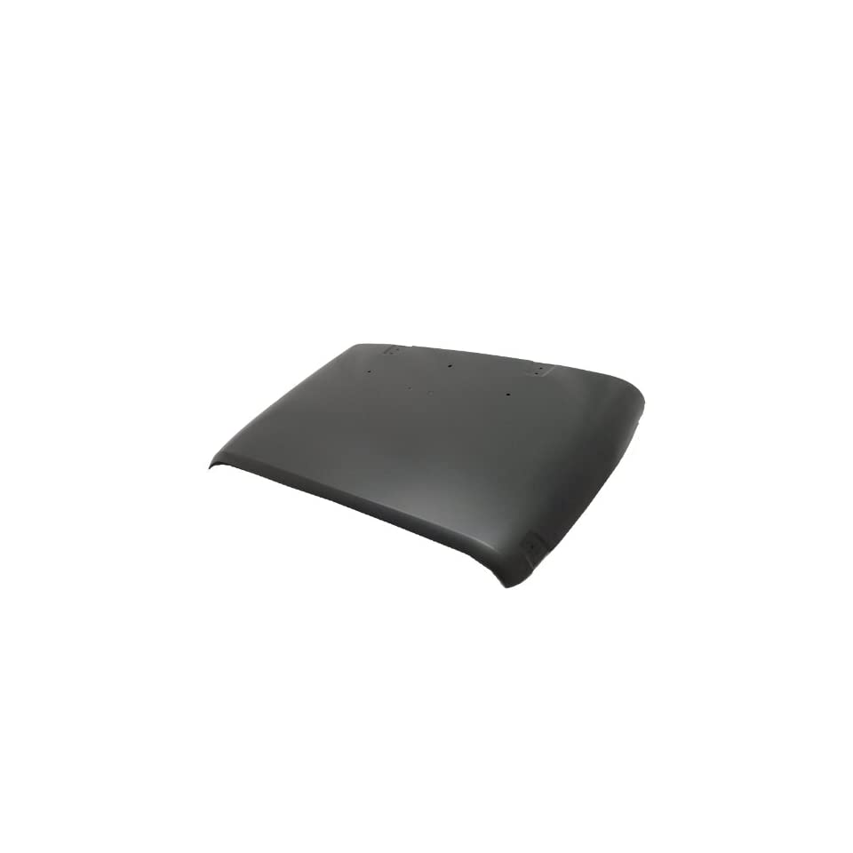TKY AM20018A TY1 Jeep Wrangler Primed Black Replacement Hood