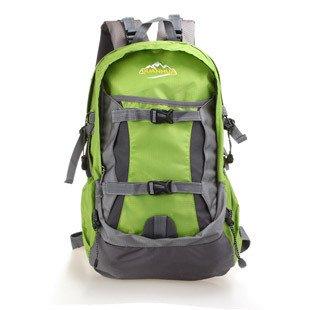 BAO Zaino zaino donna nuovo ultralight impermeabile sport all'aria aperta arrampicata borsa a tracolla, verde