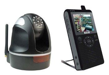 ECG WSS-1 Wireless Digital Pan and Tilt Surveillance System