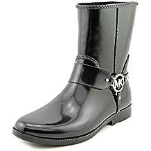 MICHAEL Michael Kors Womens Fulton Harness Rubber Closed Toe Mid-Calf Fashion.