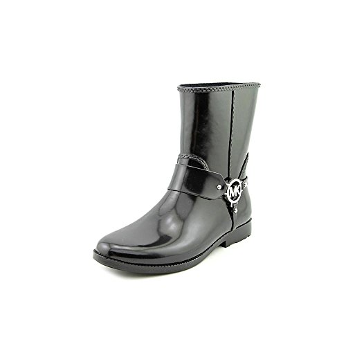- Michael Michael Kors Women's Fulton Harness Rainbootie Black Boot 6 M