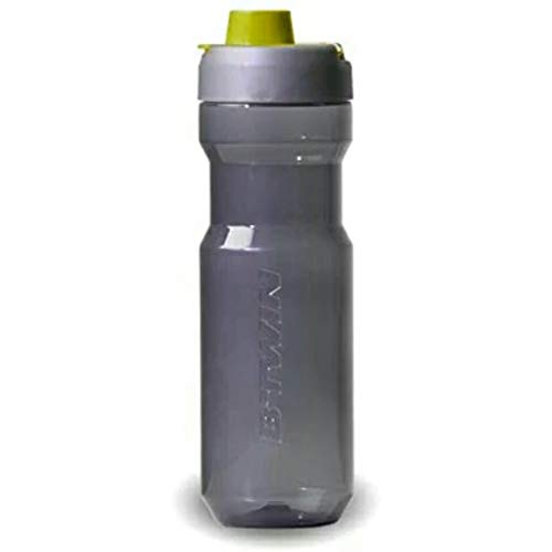 Btwin Trekking Cycling Water Bottle, 750 ml  Grey and Yellow