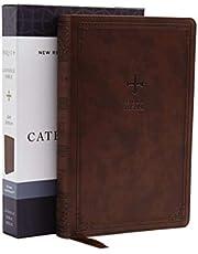 NRSV, Catholic Bible, Gift Edition, Leathersoft, Brown, Comfort Print: Holy Bible