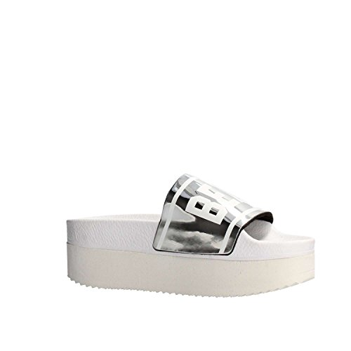The White Brand High Holy Beach Silver Women, Rubber, Power Strips