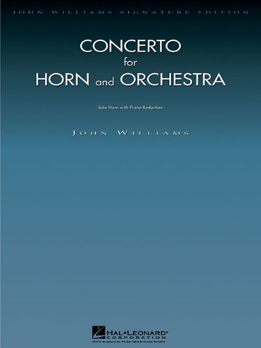 (Concerto for Horn and Orchestra: Horn with Piano Reduction)