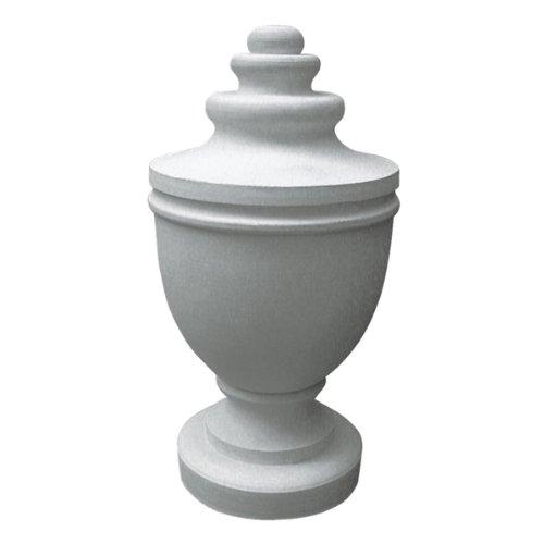 Ekena Millwork FIN04X11UR 4 7/8-Inch OD x 11 1/2-Inch Urn Finial Decorative Urn Finials
