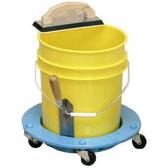 Bucket Dolly - Heavy Duty Rolling Cart for 5 Gallon Buckets