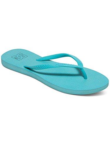 Femme ADJL100014 Bleu Tongs Spray DC pour Shoes wxq8BnIX