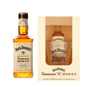 jack daniels honey gift set and collectors glass by moreton gifts
