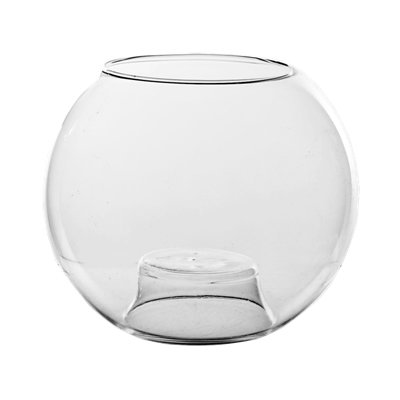 CYS EXCEL Tealight Glass Candle Holders (H:3.25