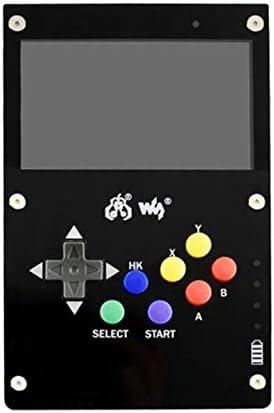 TOOGOO GamePi43 pour Console de Jeu RetroPie pour Raspberry Pi 3 B 800X480 éCran IPS Plug UE