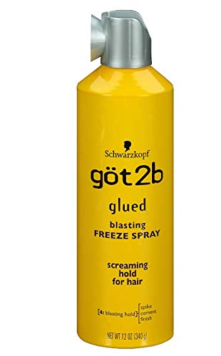 got2b sprühkleber Freeze esmalte de pelo, 3 Pack (3 x 300 ml ...