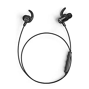 Anker Soundbuds Slim+ Bluetooth Headphones, Bluetooth 5 Lightweight Stereo Earbuds with Customizable Accessories, 10…
