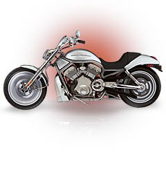 2002 VRSCA V-Rod Collectible Diecast / Die-Cast Motorcycle ()