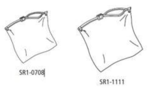 Hefty Clear Plastic Bags - 9