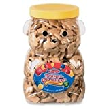 PFY11037 - Bear Cookie Jar,w/ Animal Crackers,Re-usable Container,24oz.