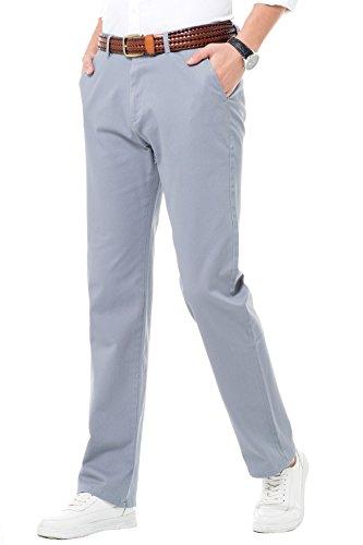 Múltiples Perneras De Harrms Rectas Gris Colores Para Recto Hombre Liso Estilo Corte Pantalones Con Elegir Casual Elástico qwvA7p