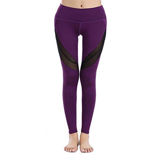 Pantalons de yoga en plein air pantalons de fitness et pantalons de coupe rapide