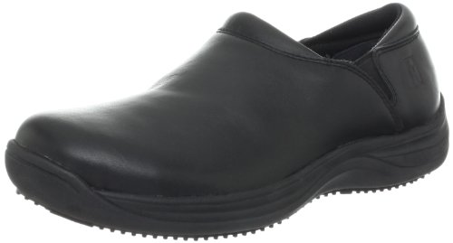 MOZO Women's Forza Slip Resistant Work Clog,Black,9.5 M US by MOZO