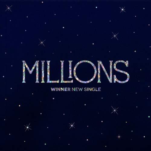 WINNER MILLIONS New Single Album 2 25% OFF Book+ 2CD+2ea Photo Special sale item VER SET