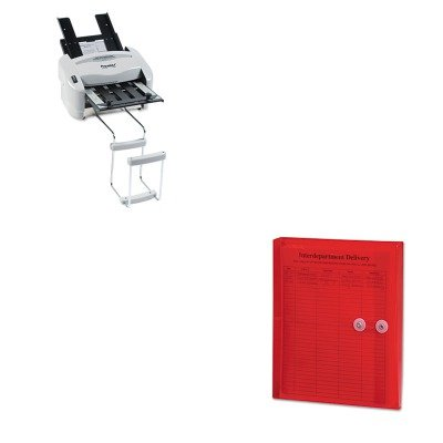 KITPREP7200SMD89527 - Value Kit - Smead Poly String amp;amp; Button Booklet Envelope (SMD89527) and Martin Yale Model P7200 RapidFold Light-Duty Desktop AutoFolder (PREP7200)