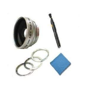 Flip Video 2.0x Telephoto (Modification Style) Magnetic Lens + DIGI Micro-Fiber Cleaning Cloth + Pro Lens Cleaning Pen. by Digi