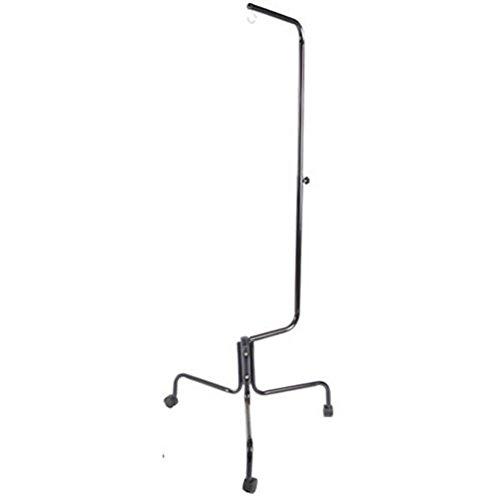 Liberta Bird Cage Stand on Wheels - Metal Black Effect - Height Adjustable