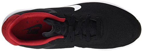 Nike Herren 844874 Sneakers Mehrfarbig (Black / White / Gym Red / White)