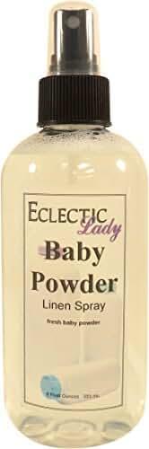 Baby Powder Linen Spray, 8 ounces