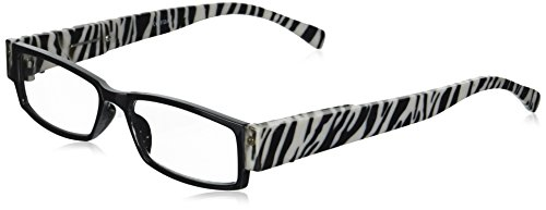 EVIDECO LED Reading Glasses with Light, LG Zebre Optic By Finess Power +1