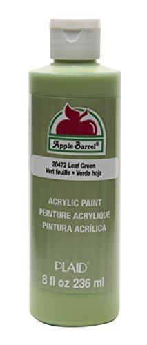 Apple Barrel Acrylic Paint in Assorted Colors (8 oz), 20472 Leaf Green