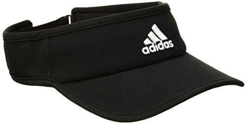 adidas Men's Adizero II Visor, Black/White, One - Visor Hats