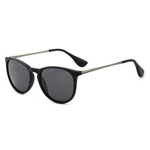 SUNGAIT Polaroid Gafas de sol Mujer Hombre Retro Redondas Unisex 400 UV a buen precio