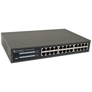 LG-Nortel ELO ES24 24-Port 10/100Mbps Fast Ethernet Switch