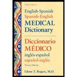 img - for English-Spanish/Spanish-English Medical Dictionary, Third Edition [English and Spanish Edition] by Rogers, Glenn [McGraw-Hill Medical,2006] [Paperback] 3RD EDITION book / textbook / text book