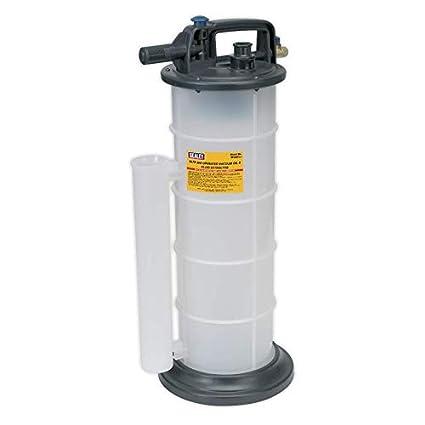 Sealey TP6903 - Extractor al vacío de aceite y líquidos (accionado por aire)