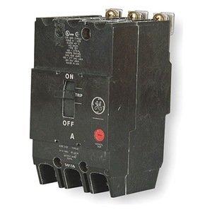 GE TEY330 Circuit Breaker, 480/277-Volt, 3-Pole, 30-Amp, BRK / TEY Frame