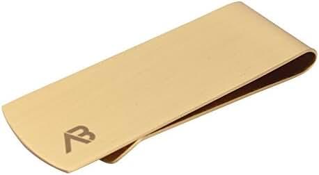 ALASKA BEAR - Classic Cash Money Clip Credit Card Holder