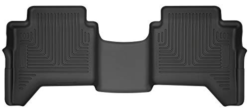 Husky Liners 14411 Black 2nd Seat Floor Liner Fits 2019 Ford Ranger SuperCrew