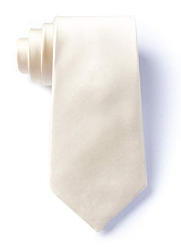 Ivory Cream Ivory Cream Silk Extra Long Tie