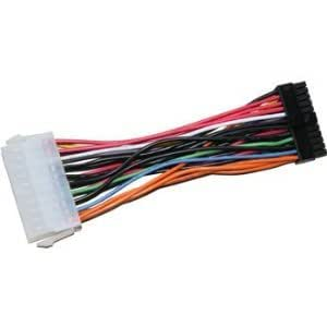 5.5 Inch ATX Power Supply 20 Pin to Small Mini 24 Pin Connector Adapter Cable Cord for HP Slimline Flex ATX MotherBorad Main Board By KENTEK