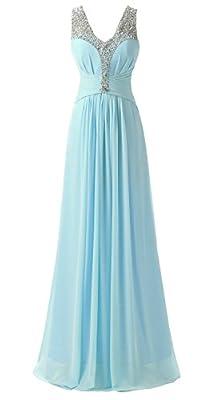 Kmformals Women's Beaded Prom Evening Bridesmaid Dresses
