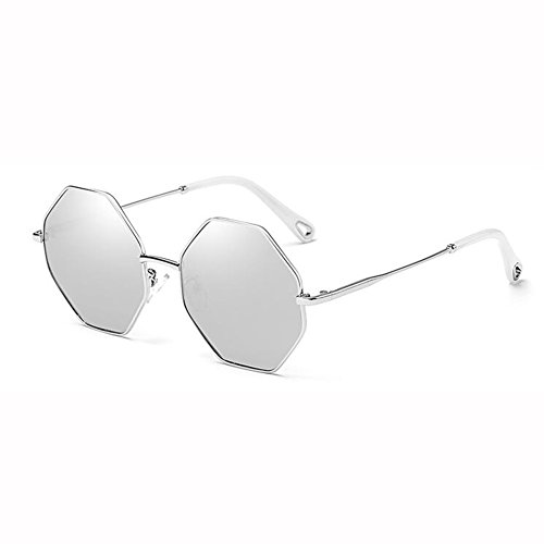 Playa Gafas Anís De WX Vistoso Sol xin Color Estrellado Hipster 5 Poligonal 2 Hembra Lente UV Anti qI5F8wx