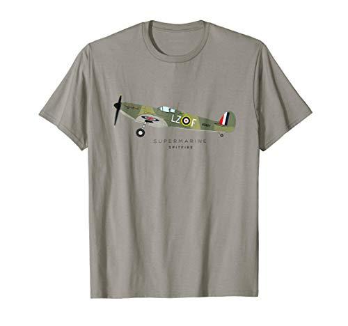 Spitfire World War Two Fighter Airplane T-Shirt