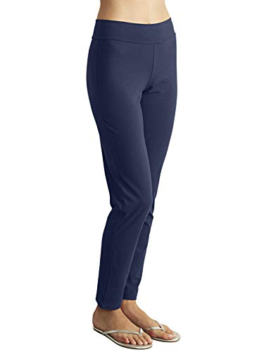 Blue Canoe Womens Bamboo - Blue Canoe Bamboo Organic Cotton Slim Fit Pant Navy Blue